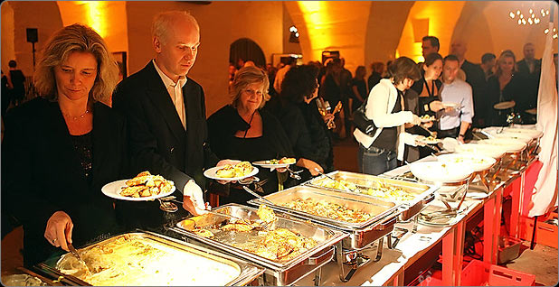 Catering mit Buffet